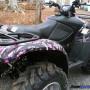Muddy Girl ATV vinyl wrap kit