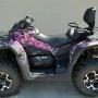 Muddy Girl Camo ATV wrap