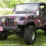 Muddy Girl camo wrap film for Jeep