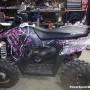 Muddygirl ATV camo wrap pink purple