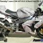 Dirty Air Craft Metal Bike Wrap