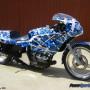 Confusion Blue bike wrap 303