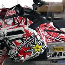 Confusion Red Sled wraps 300