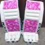 Hocky Goalie Pink camo pads