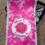 Pink camo Goalie pads