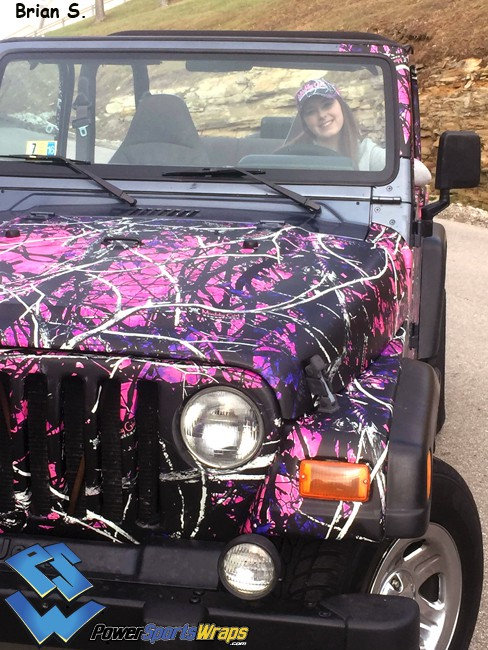 Moon Shine Muddy Girl Camouflage Powersportswraps Com