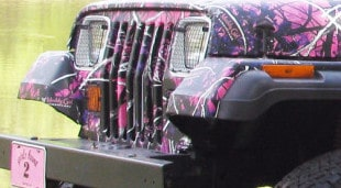 Muddy Girl By Moonshine Camouflage Jeep Wrap