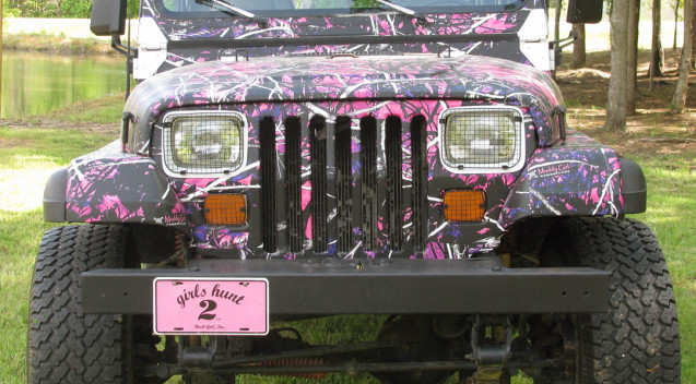 Muddy Girl Jeep 004