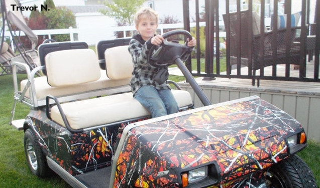 Wildfire by MoonShine Camoufage Golf Car